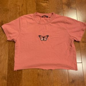 NEW brandy melville cropped t shirt